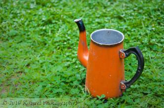 Orange jug