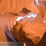 Shapes in Antelope Canyon