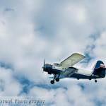 Blue Antek in blue sky