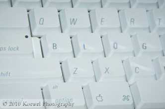 Blogging keyboard (Mac users only)
