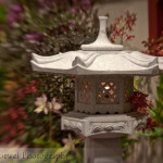 Orchid garden shrine