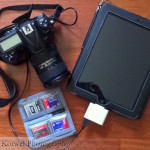Compact packing – thanks to iPad