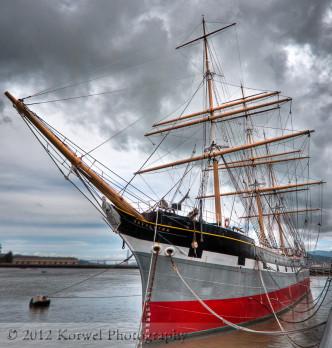 Baclutha a sailing ship, San Francisco Maritime National Historical Park
