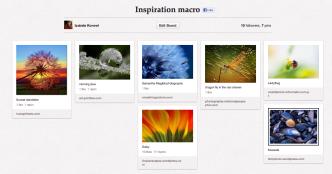 Macro Pinterest board