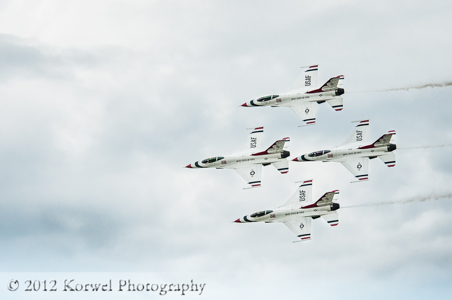 Thunderbirds for Thunder in the Valley, 2011