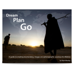 "Travel photographer checklist with ""Dream plan go"" by Piper Mackay"