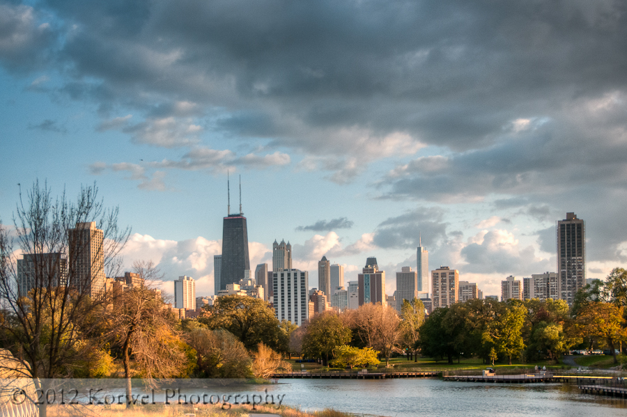 Chicago in fall (another view)