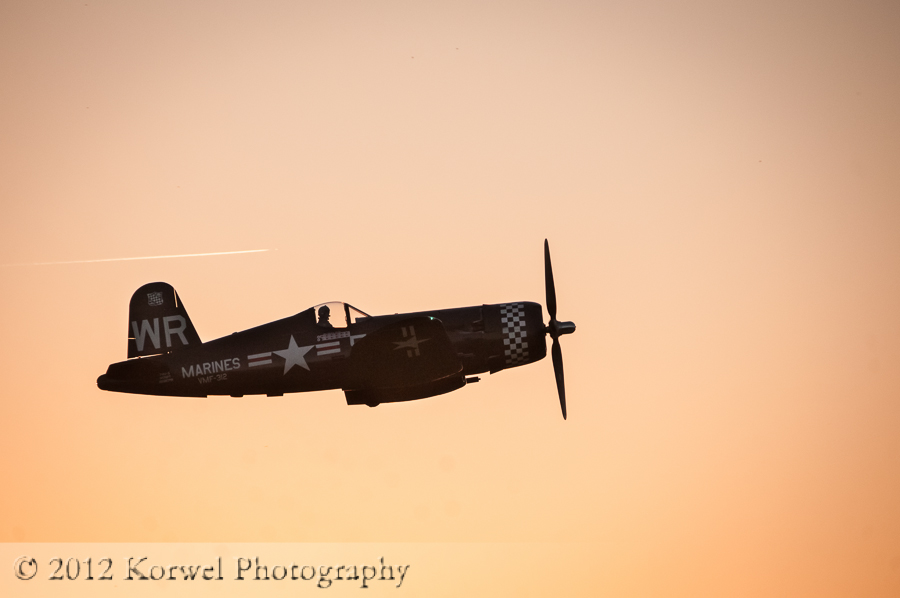 Vought F4U-5N Corsair, SE Iowa Air Show, Burlington