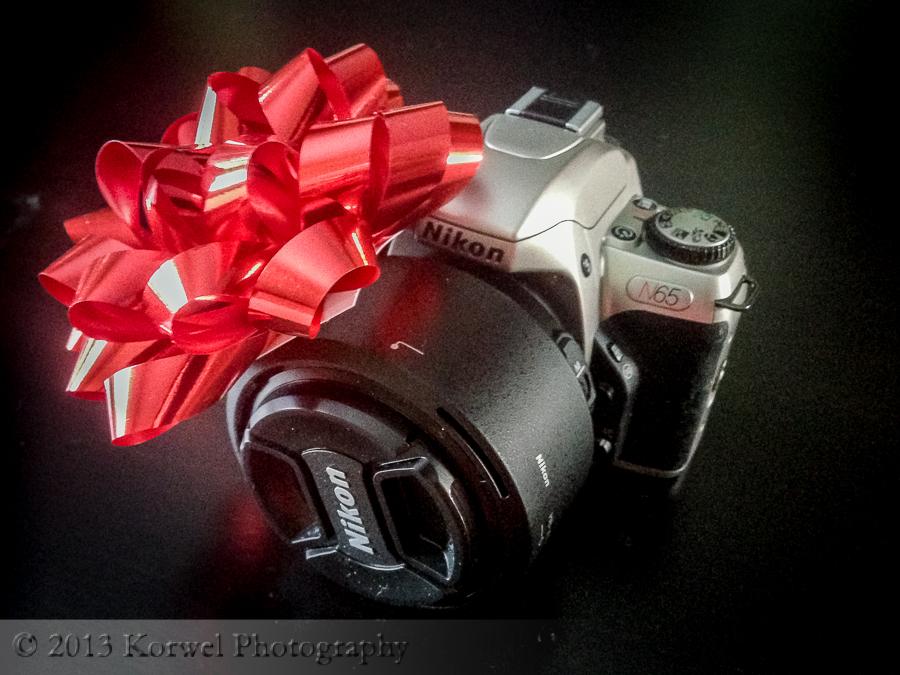 Nikon N65 film camera