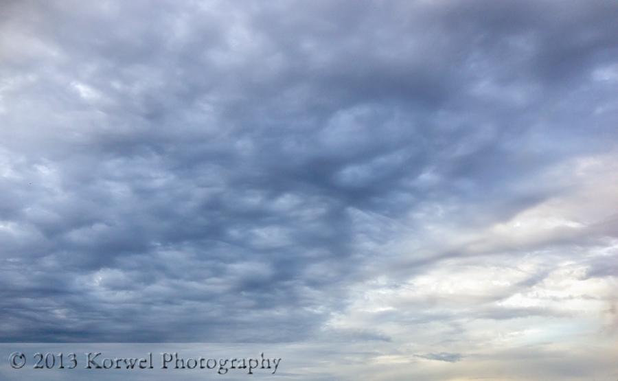 April skies- before the rain