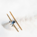 In flight – Stearman