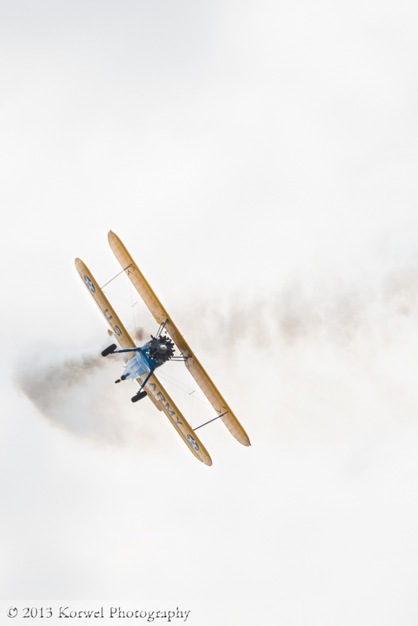 Stearman at Quad Citiy Air Show 2013