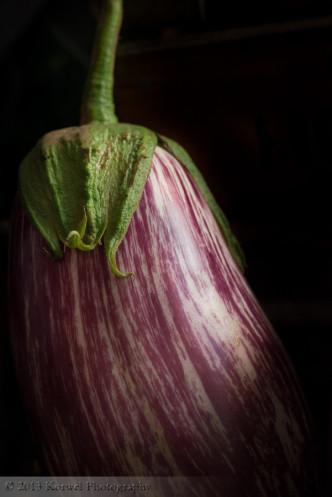 Eggplant low key