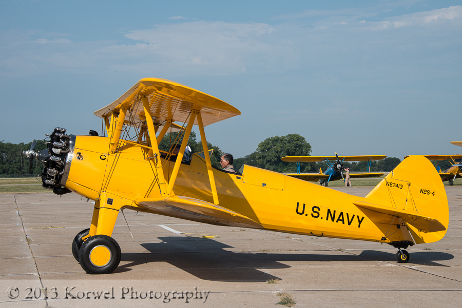 Stearman fly-in, Burlington, Iowa 2013