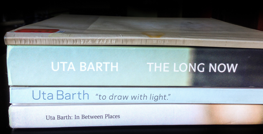 Photo books by Uta Barth