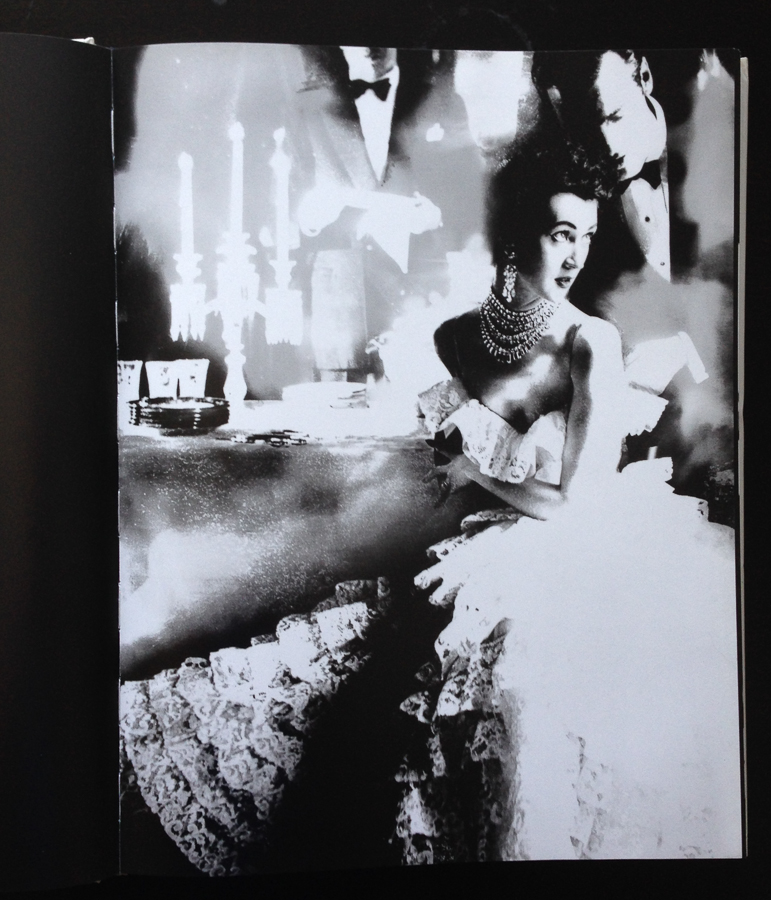"Lillian Bassman's In This Year of Lace, Dovima, dress by Jane Derby, the Plaza Hotel, New York, 1951. Reinterpreted 1994. ""Women"" page 57"