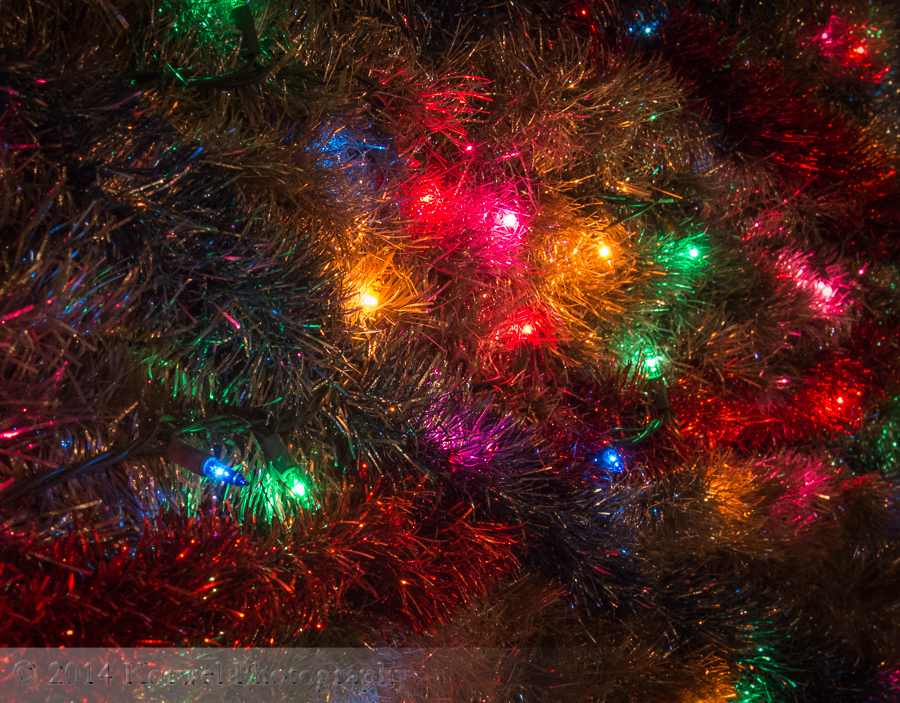 Holiday light abstract