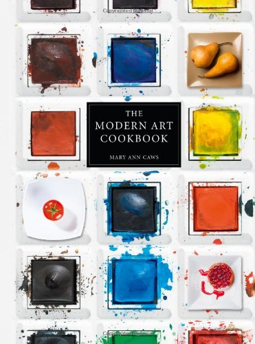 Modern art cookbook cover