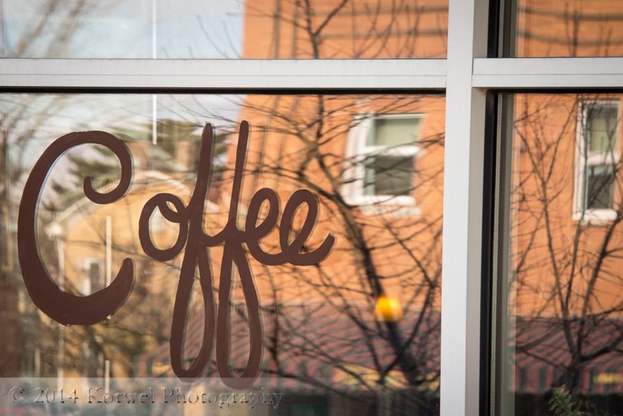 Coffee shop downtown Iowa City