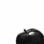 Red Delicious – in B&W