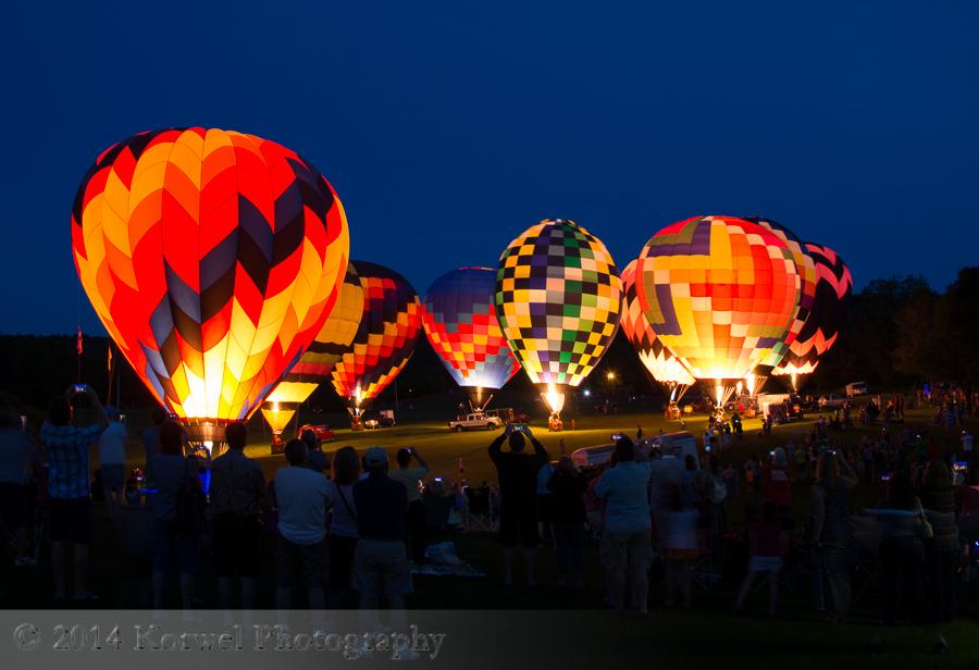 Great Galena Balloon Glow 2014