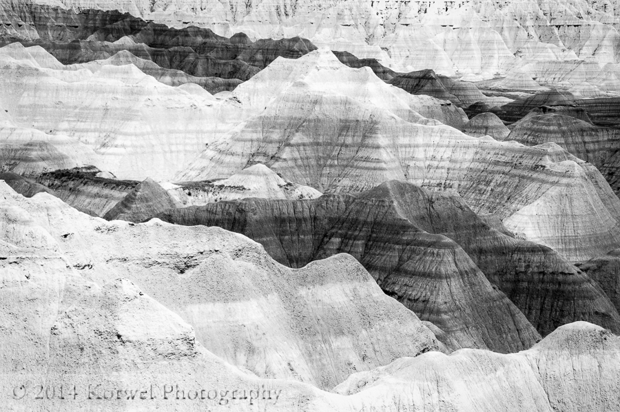Layers of Badlands