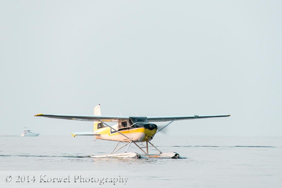 Airventure evening at Lake Winnebago