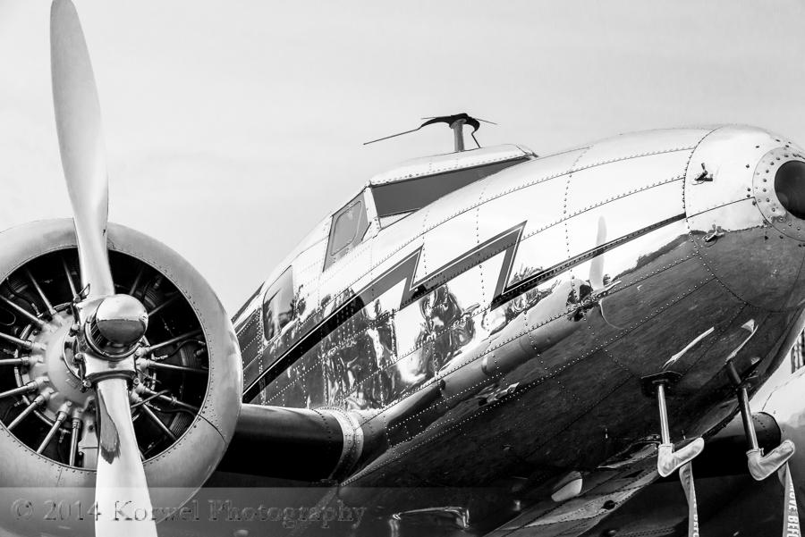 Lockhead 12 Electra Junior at static at Airventure, Oshkosh 2014